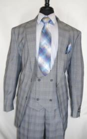 Vintage Checkered Pattern Gray