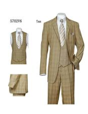 Checkered Vintage Patterns Suit