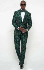 Dark Green Tuxedo ~