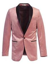 Blazer Slim Fit Velvet
