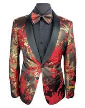 Flower Matching Bowtie Tuxedo