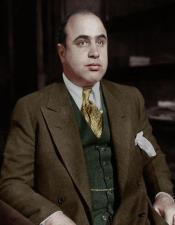 Al Capone Brown Suit
