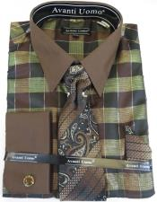 Plaid Pattern Brown Colorful