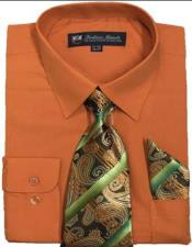 Fortini Tie Set Orange
