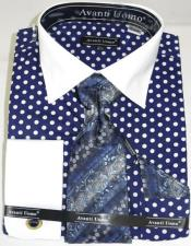 Polka-a-Dot Colorful Mens Dress
