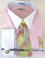 pattern Tie Pink Colorful