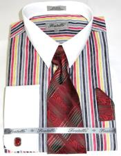 Cathedral Stripe Colorful Pinstripe