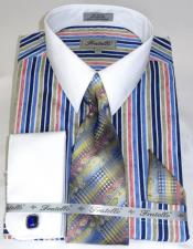 Colorful Mens Cathedral Stripe