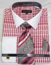 solid Collar Red Colorful