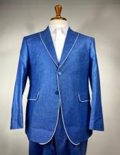 Trimmed Lapel Jacket and