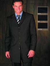 Black Suit With Plain