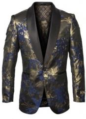 and Gold Blazer with
