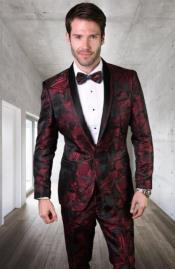 Slim Fit Prom Suit