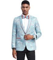 Blue Tuxedo Jacket Pattern