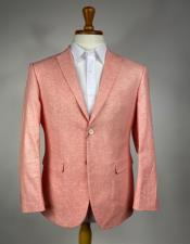 Colorful Summer Linen Suit