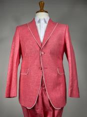 Colorful Summer Linen Suit
