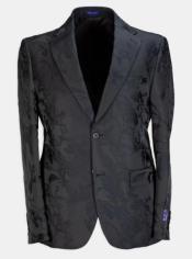 Floral Suit Flat Front