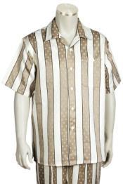 Stripes Short Sleeve 2pc