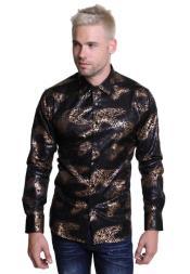 Geo-Print Long sleeved shirt