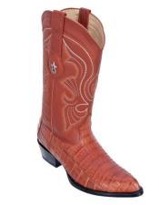 Caiman Belly Cognac Cowboy