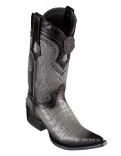 Pointed Toe Cowboy Caiman