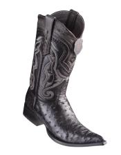 Black Pointed Toe Cowboy