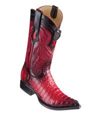 Caiman Tail Red Pointed
