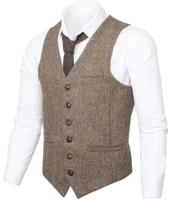 Fit Tweed Mens Herringbone