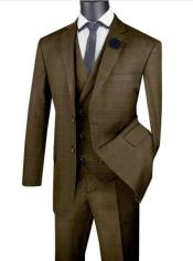 Mens 2 Button Suit