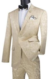 Khaki Color Suit Beige