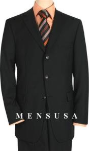 Cheap Plus Size Suits For Men - Big and Tall Suit For Big Guys Black