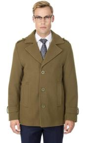 Short Length Coat Wool