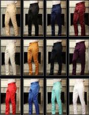 Satin Fashion Pants
