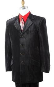 Button mens Suit Velvet