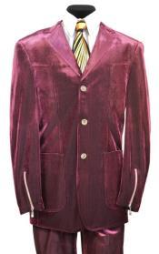 Button Suit Classic Fit