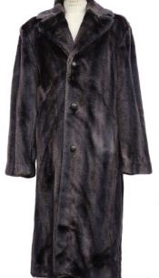 Fur Overcoat - Long
