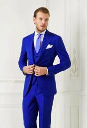 Electric Blue Suit