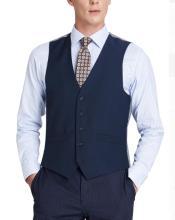 Mens Suit Vest Dark