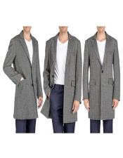 Overcoat - Tweed Coat
