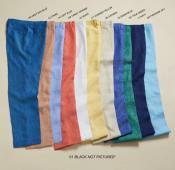 Fabric Flat Front Pants