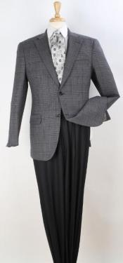 Blazer Dark Brown Windowpane