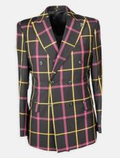 Plaid Suit - Window