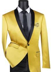 Yellow Tuxedo Blazer -