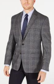 Plaid Windowpane Checker Slim