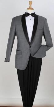 Tuxedo - Gray Tux