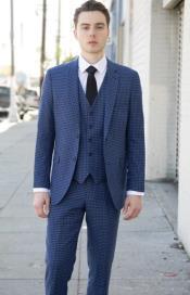 Suit Blue - Black