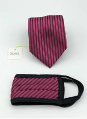 Tie Set Fuchsia and