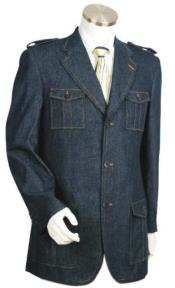 Blue Fashion Zoot Suit