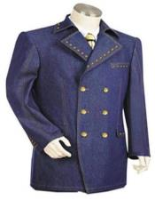 Navy blue Color Suit