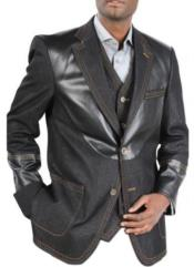 Cotton Denim Sport Coat